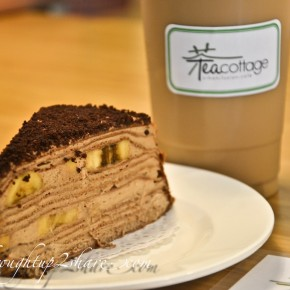 Tea Cottage @ Kajang: Of Coffee, Milk Tea @ Mille Crepe!
