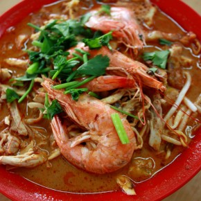 Sarawak Laksa @ Restoran Tar Chong, Equine Park