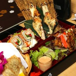 Nagomi Lover's Bento @ Nagomi Japanese Restaurant