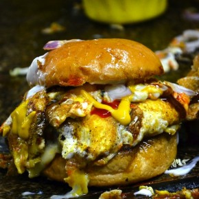 OM Burger: The Ultimate & Sloppy Burger @ Ampang Jaya