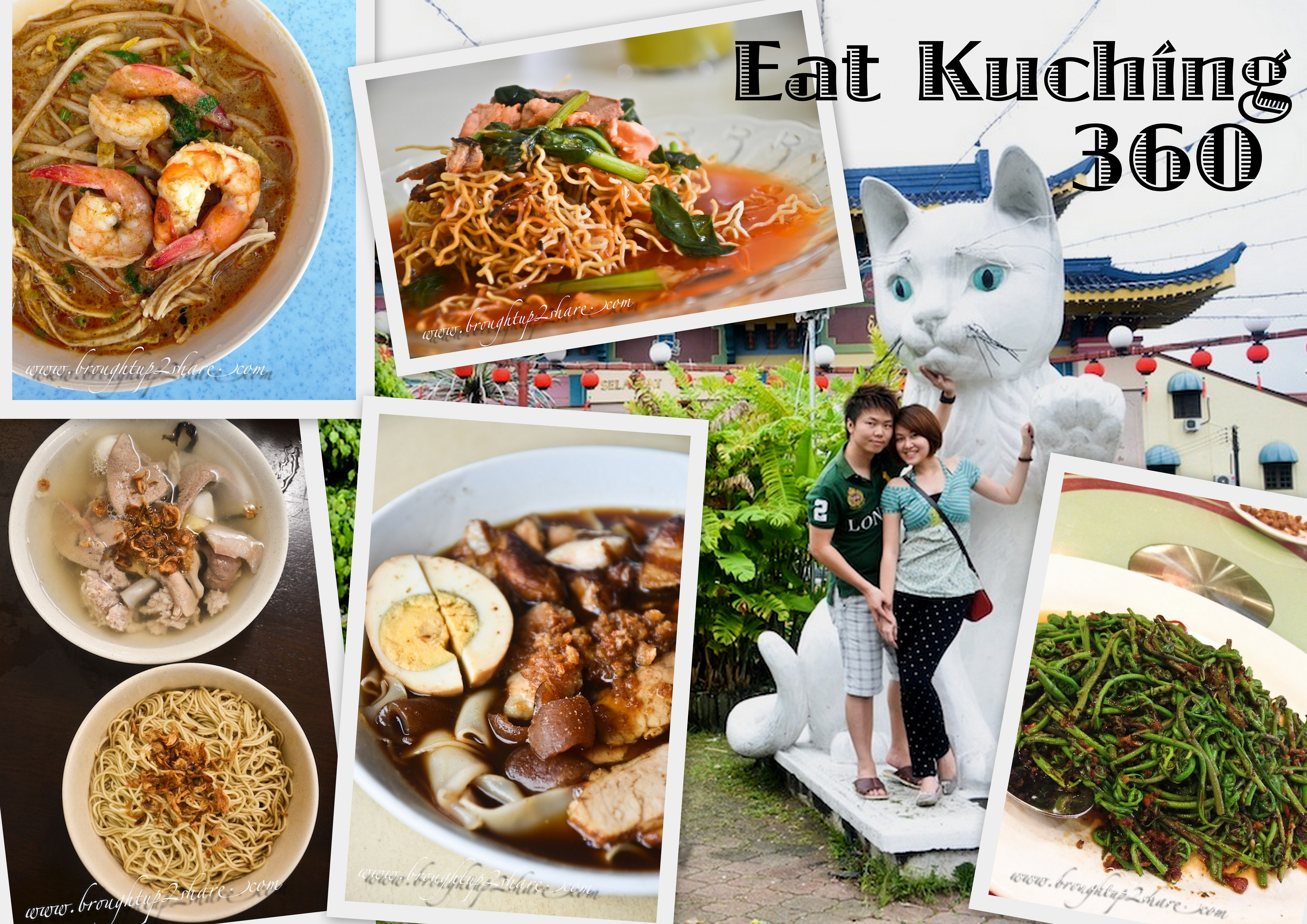 C ♥ C Kuching 360: 4D3N Eat & Explore!